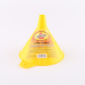 1 one pint plastic funnel yellow for flask BPA free