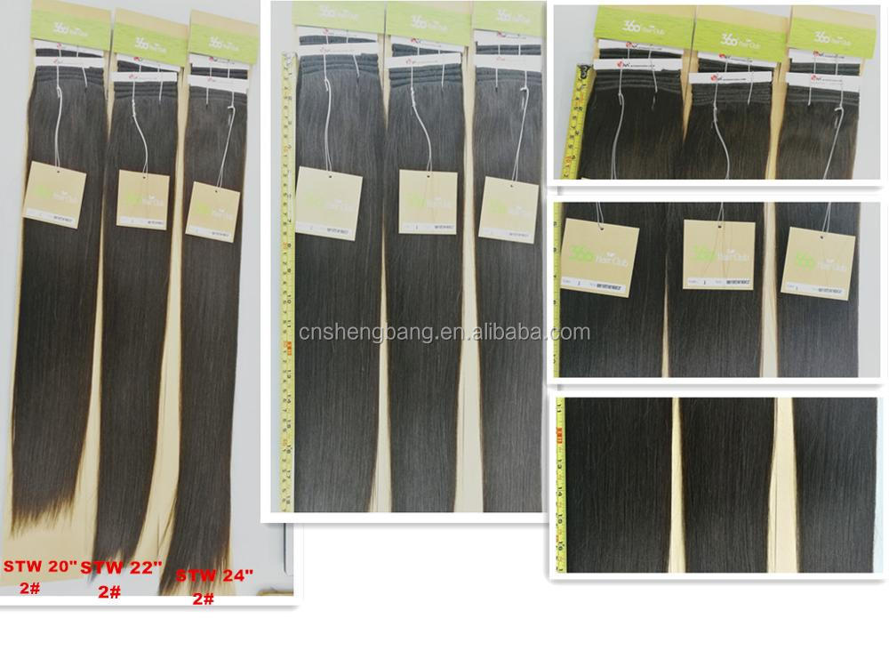 "In stock 100% Hair Weave Double Drawn Hair Club SINA 20"", 22"" light brown 27# 9A non remy double drawn hair"
