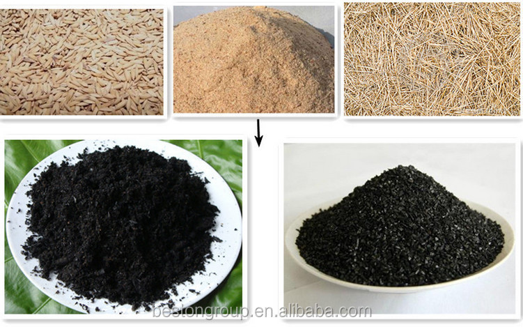 Newest!!! Pop Coconut Shells Carbonizing Furnace/ Activated Carbon ...