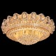 Luxury antique Indian crystal ceiling light fixtures for bathroom