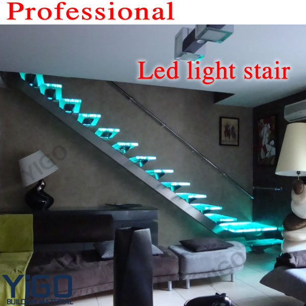 Stainless Steel Staircase Handrail Design / Stainless Steel glass Staircase