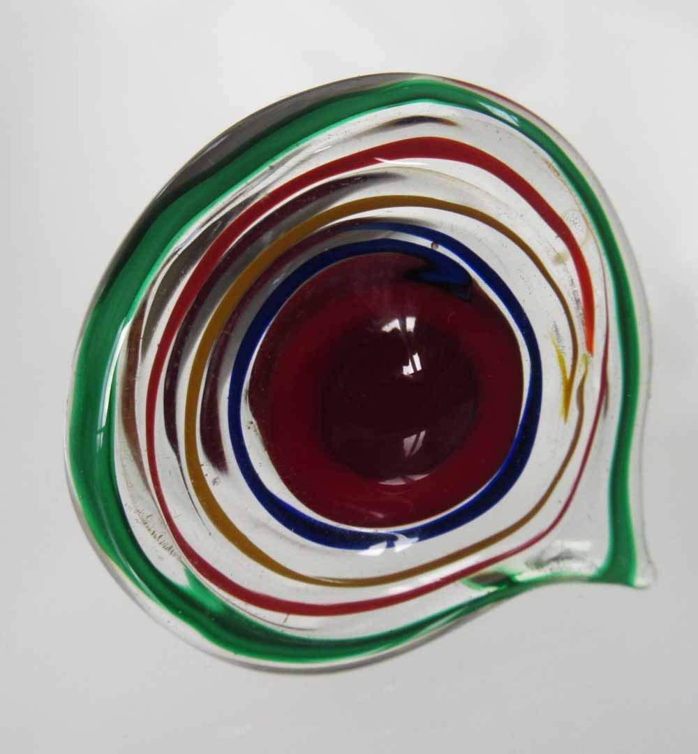 KNOBS - 4 Venetian Glass Cabinet Knobs - Red Green Blue for Furniture, Kitchen Drawer Pulls, Bathroom Cupboard Knobs, Kids Rooms Bureau Knobs