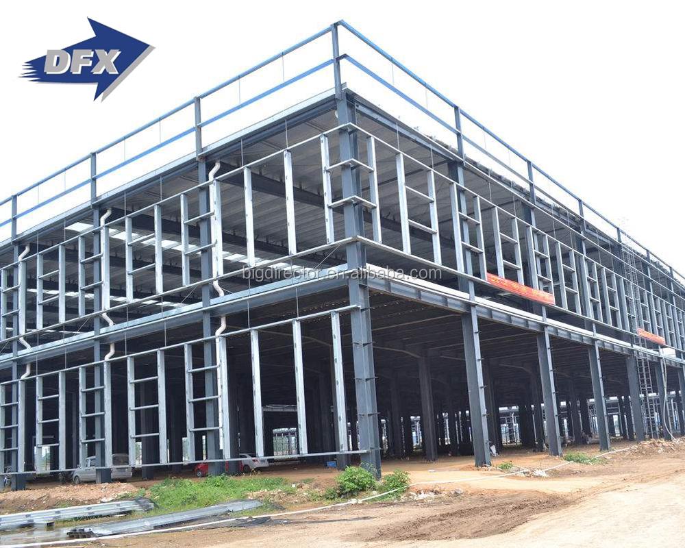 Dfx Erección Rápida Estructura De Acero Taller De Construcción ...