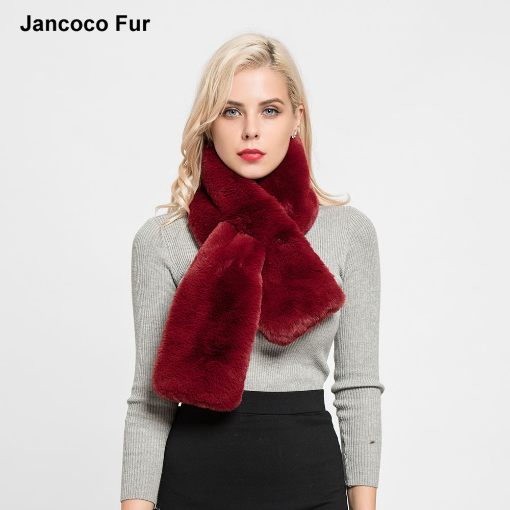 Top Quality Faux Fur Scarf Women Fashion Style Casual Shawls Autumn Winter Warm Mufflers