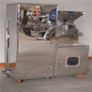 Pharmaceutical grinding machine with dedusting