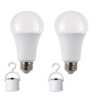 e27 e26 b22 9w blackout emergency bulb keep working 3-4 hours rechargeable led bulb light with UL