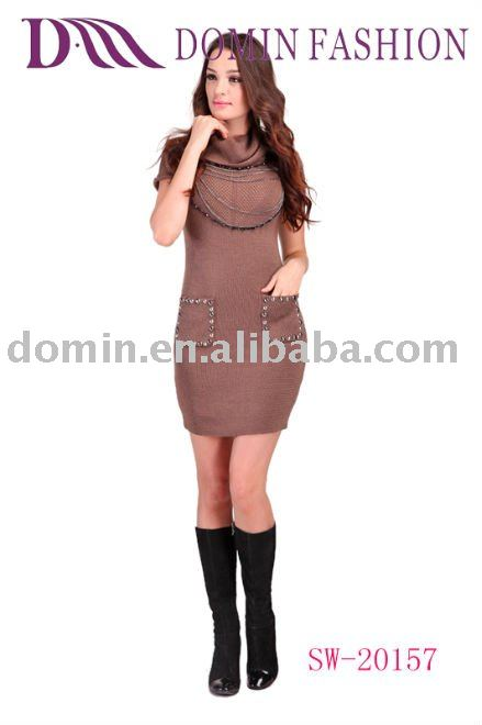 2011 Ladies'fashion sweater dress