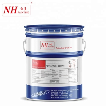 Black spray epoxy zinc phosphate paint for offshore