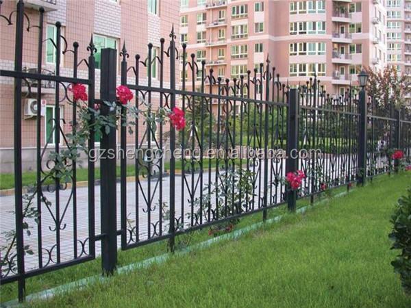 Powder Coated Galvanized Fence And Gates,Wrought Iron