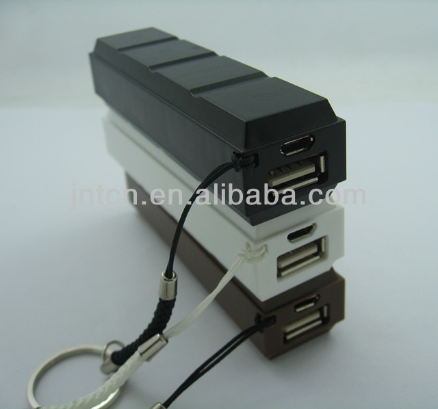 Just for gift!Chocolate Mobile power bank charger PB014-1,Small and Easy to Carry .