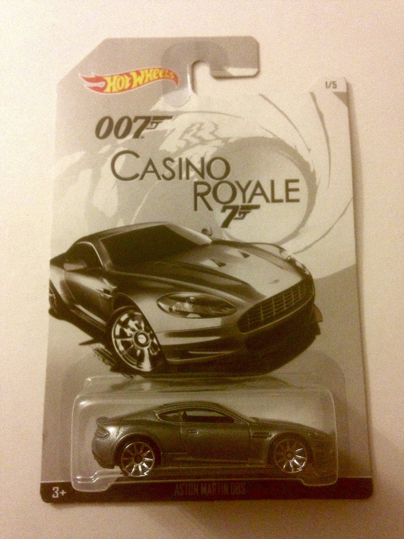 hotwheels casino royale 007 aston martin DBS car 1.64 scale model