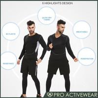 (Trade Assurance)Latest design rash guard 73% polyester 27% spandex lycra compression wear