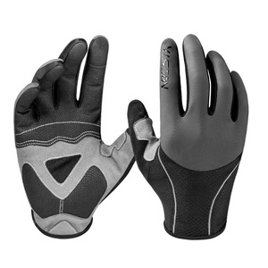 Men Women Spring Summer Anti Slip Push Bike Road Bicycle Cycling Black Gloves For Cycling Riding
