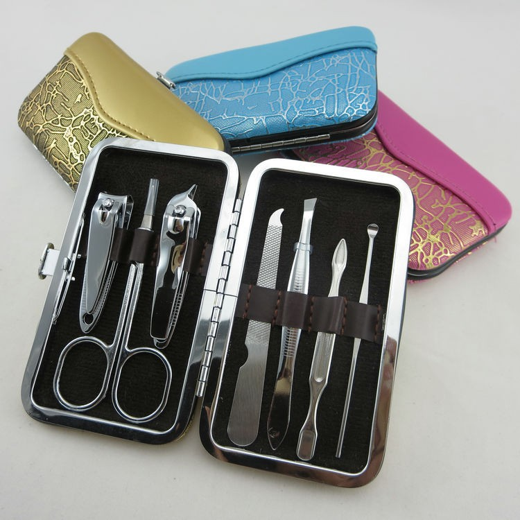nail clipper set manicure pedicure kit electric manicure pedicure kits