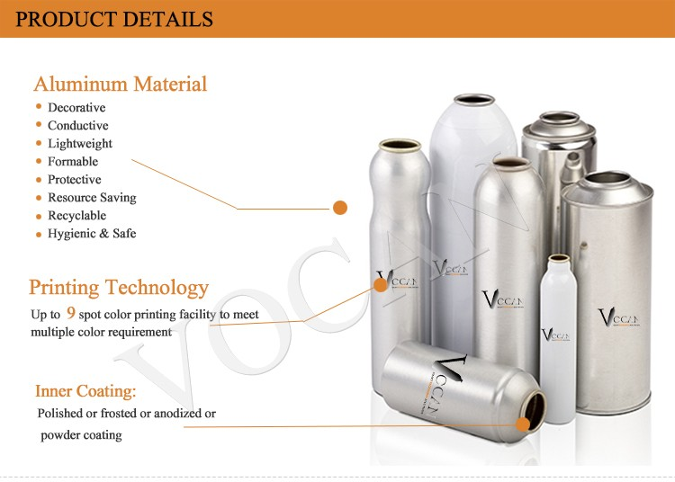 vocan aluminium material beer soda aerosol use cans vocanpacking alum printed can 250/330ml for carbonated filling cans