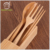 Gift Wood Beech Spoon Fork Chopsticks Set Biodigradable Cutlery For Afternoon Tea