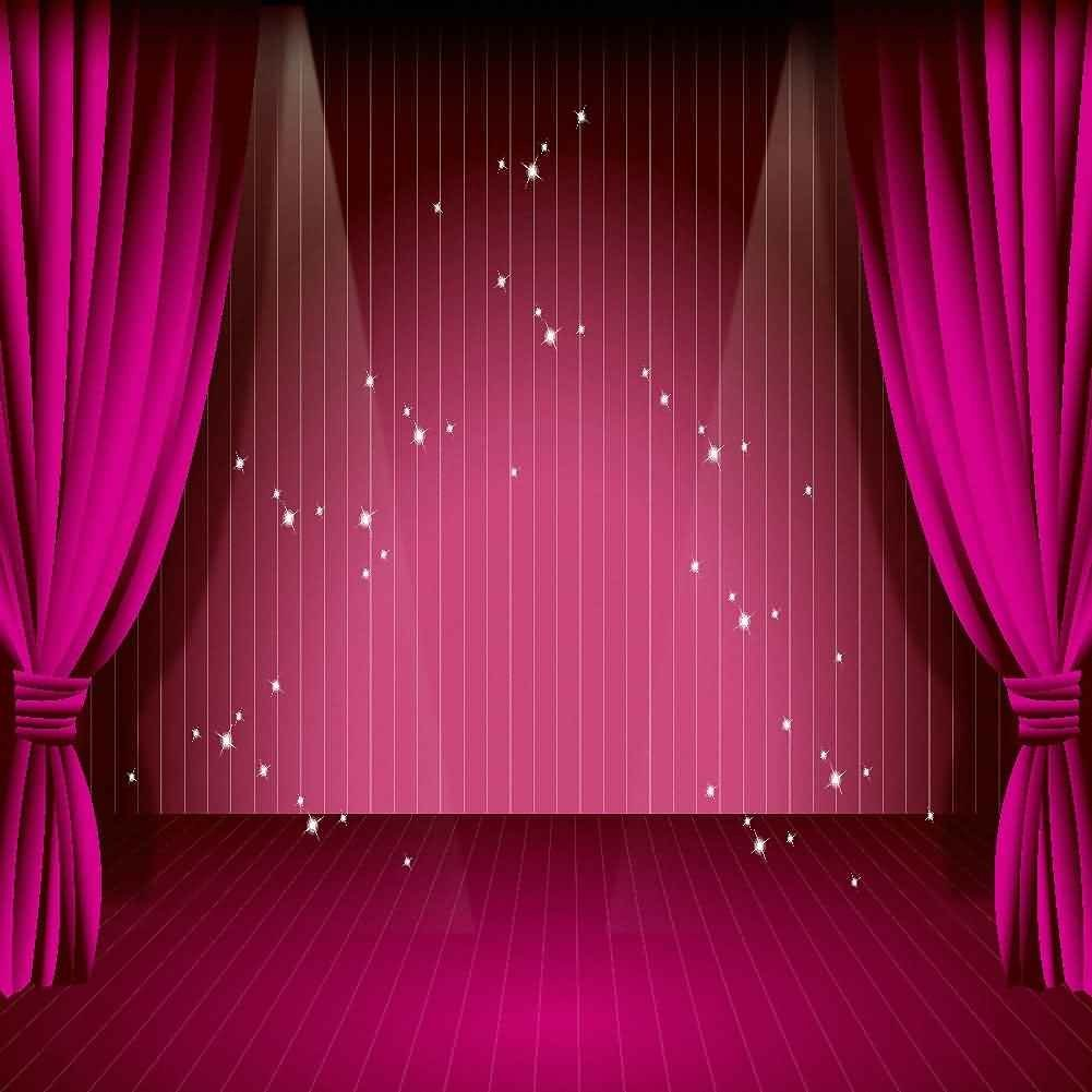 GladsBuy Stage Lights 6 x 9 Digital Printed Photography Backdrop Starlight and Light Theme Background YHA-248