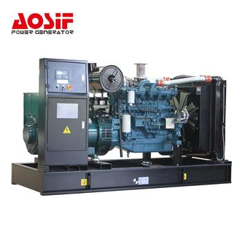 AOSIF 250KW 275KW 313KVA 344Kva generator price with doosan engine
