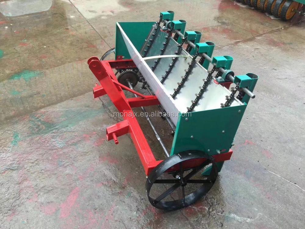 5 Rows Hand Garlic Planter For Precision Garlic Planting Machine