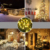 200 LED Holiday solar string lights Outdoor Solar Christmas Decoration string led light