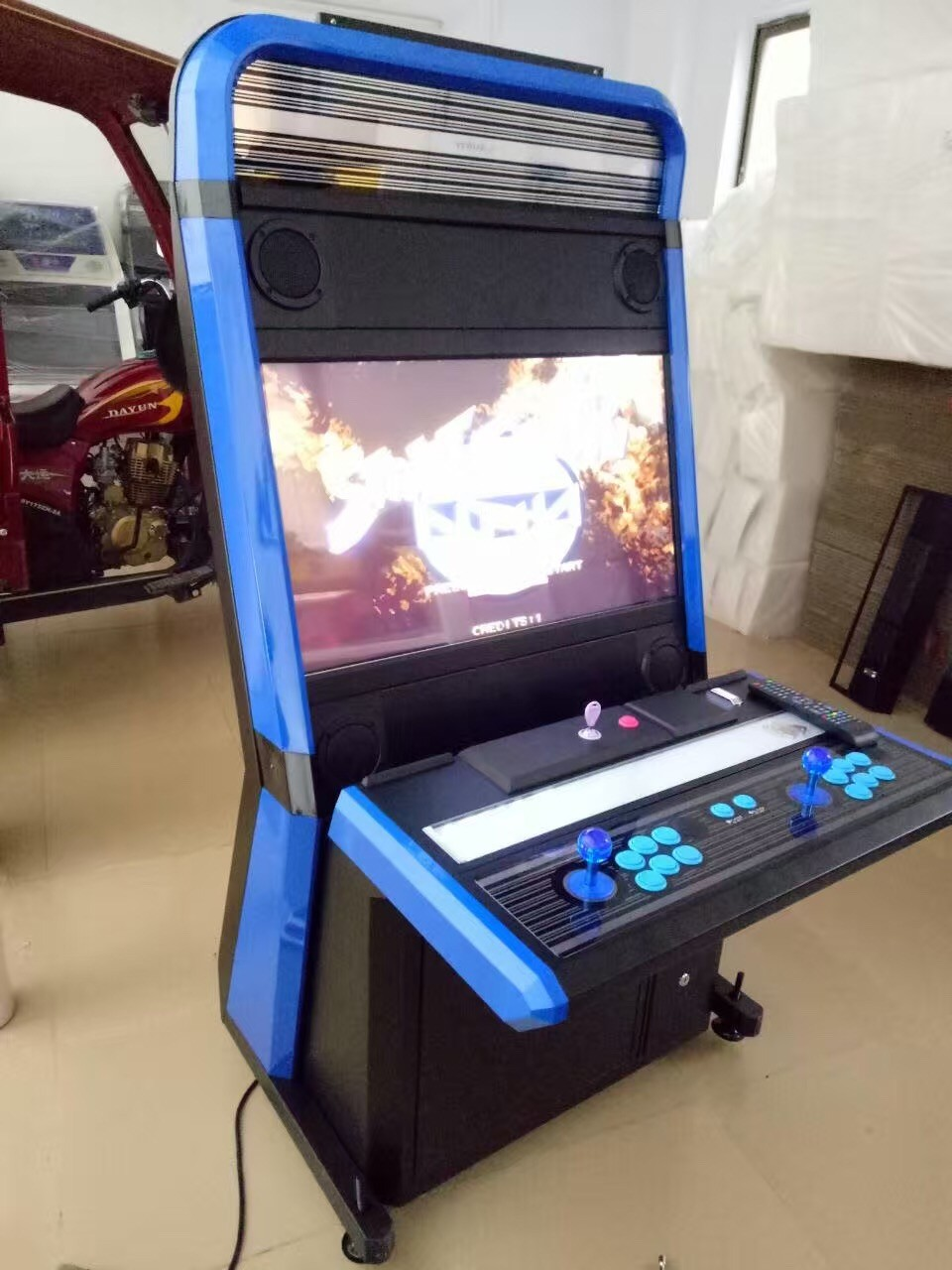 Cocktail Arcade Cabinet Wholesale 2 Players Video Game 32 Vewlix Cabinet Pandora Box 4