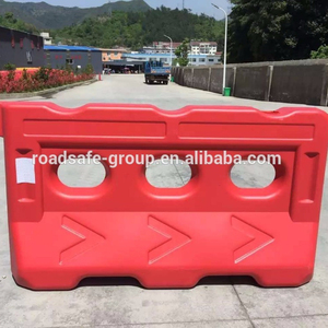 Crowd Control Plastic Traffic Water Barrier Used Road Barrier