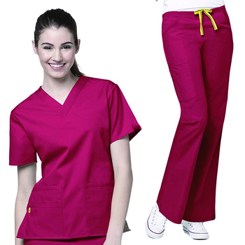 buy popular d95f5 9d492 Hot sell fashion medical assistant unisex scrub sets where buy scrub best  place in stores nurse