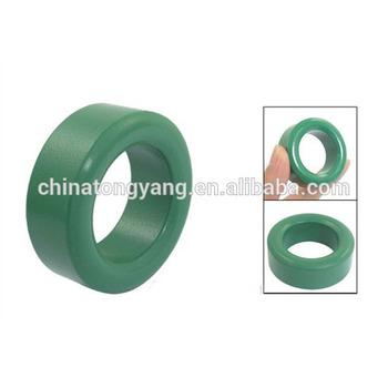 T25*15*12 Green ring core electric transformer toroid ferrite core, View  T25*15*12 Green ring core electric transformer toroid ferrite core, TYDZ