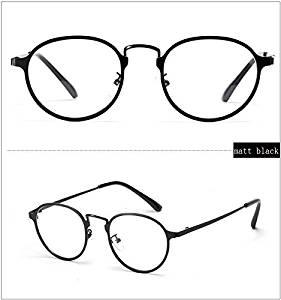3768502a082 Cloudings(TM)Metal Round Eyeglasses Frame For Optic Degree Myopia Glasses