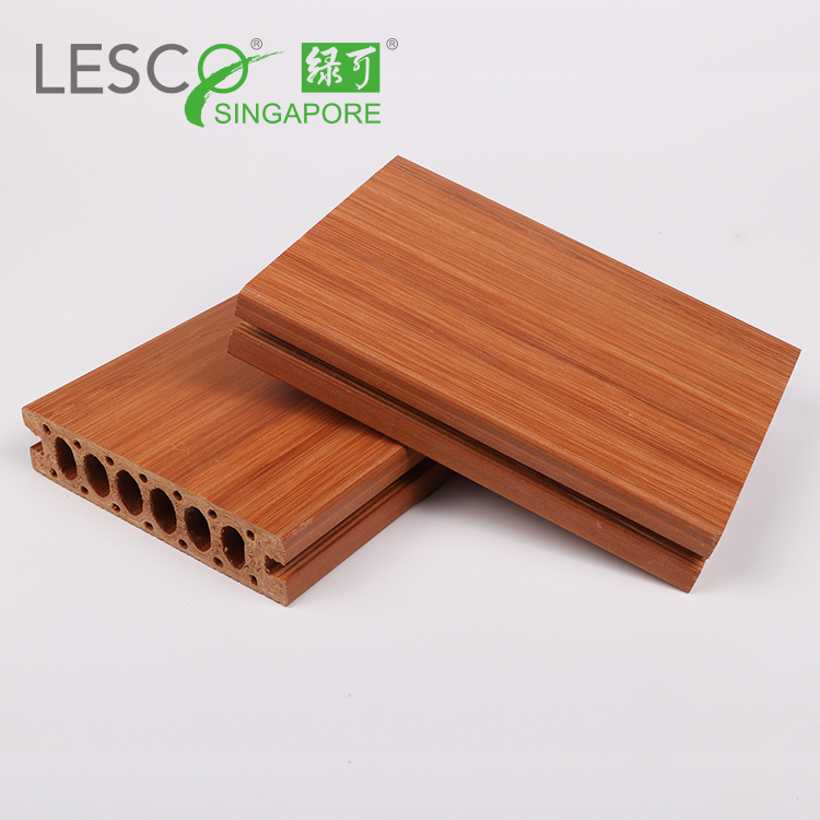 Exterior Waterproof Wood Laminated Composite Plastic Sheet Outdoor Double Deck Flooring