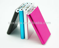 fashion design usb cable power bank for psp iphone 4/4s tablet pc 6000mah real capacity