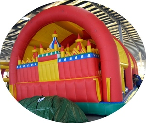 China Manufacturer customized size Inflatable Bouncy Slide Combo Li-019#