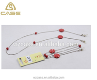 WZ 2013 glasses pendant necklaces, glasses cords and chains E87