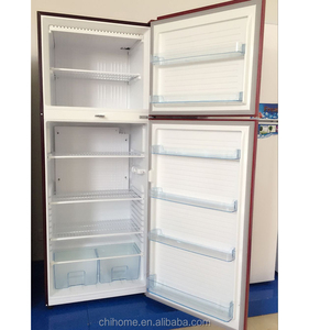 household refrigerator small size double door 510L with gas powered CFC free OEM refrigerator with evaporator optional outside