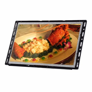 10 Inch Open Frame LCD Advertising Player / Wall mounted button signage monitor