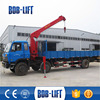 Hydraulic used crane truck jual truck crane bekas with CE