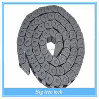 Wholesale 7X7mm 2016 3d printer Open On Both Side Plastic Towline Cable Drag Chain