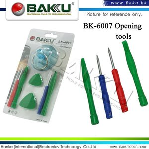 BAKU Hot Selling opening tools electrical screwdriver set for blackberry BK-6007