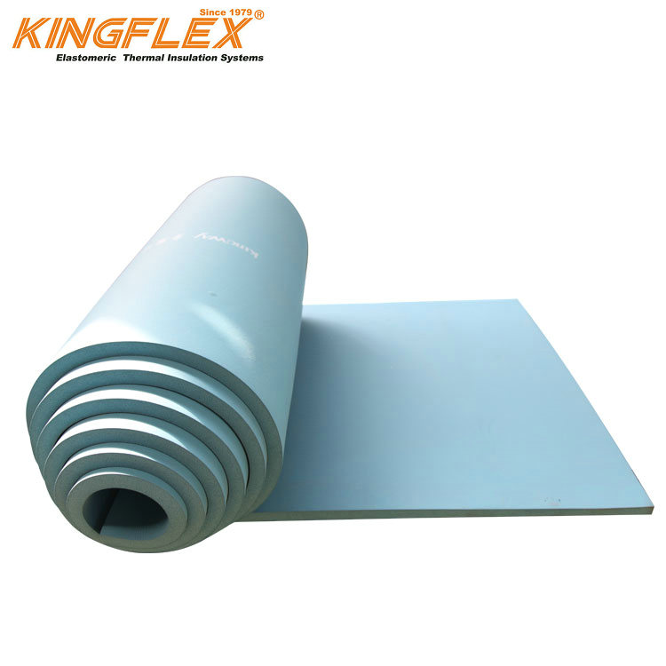 Heat Thermal Foam Flexible Rubber Foam Sheet for Air Conditioner Duct