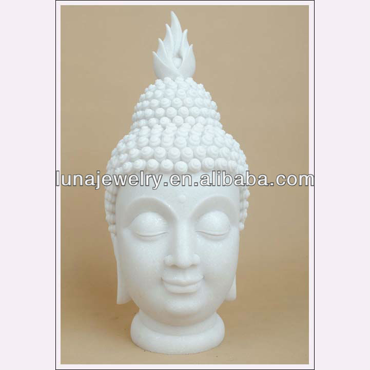 2014 China Supplier hot new products resin buddha head,wholesale buddha statue