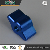 Custom anodized unmanned plane switch cnc aluminum parts