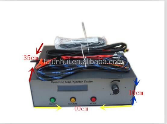 CR1000 electromagnetic piezo injector common rail tester