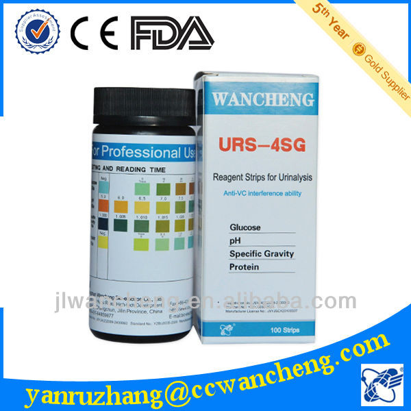 wancheng urine specific gravity test strip urs-4sg specific, Skeleton
