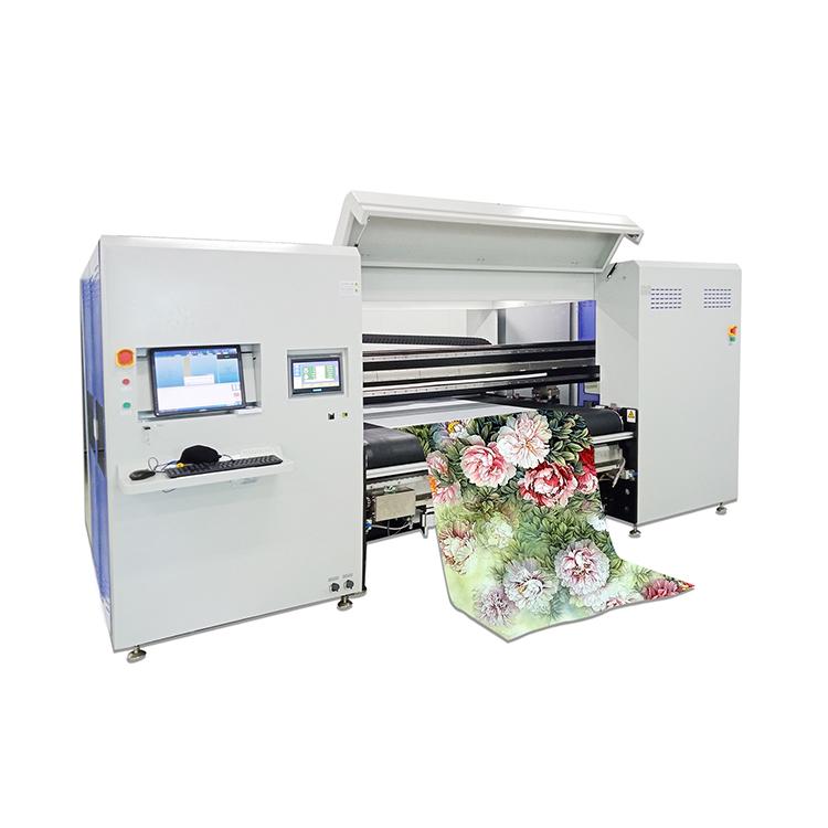 Di grande formato diretto a garment vestiti di cotone stampante a getto d'inchiostro digitale macchina da stampa