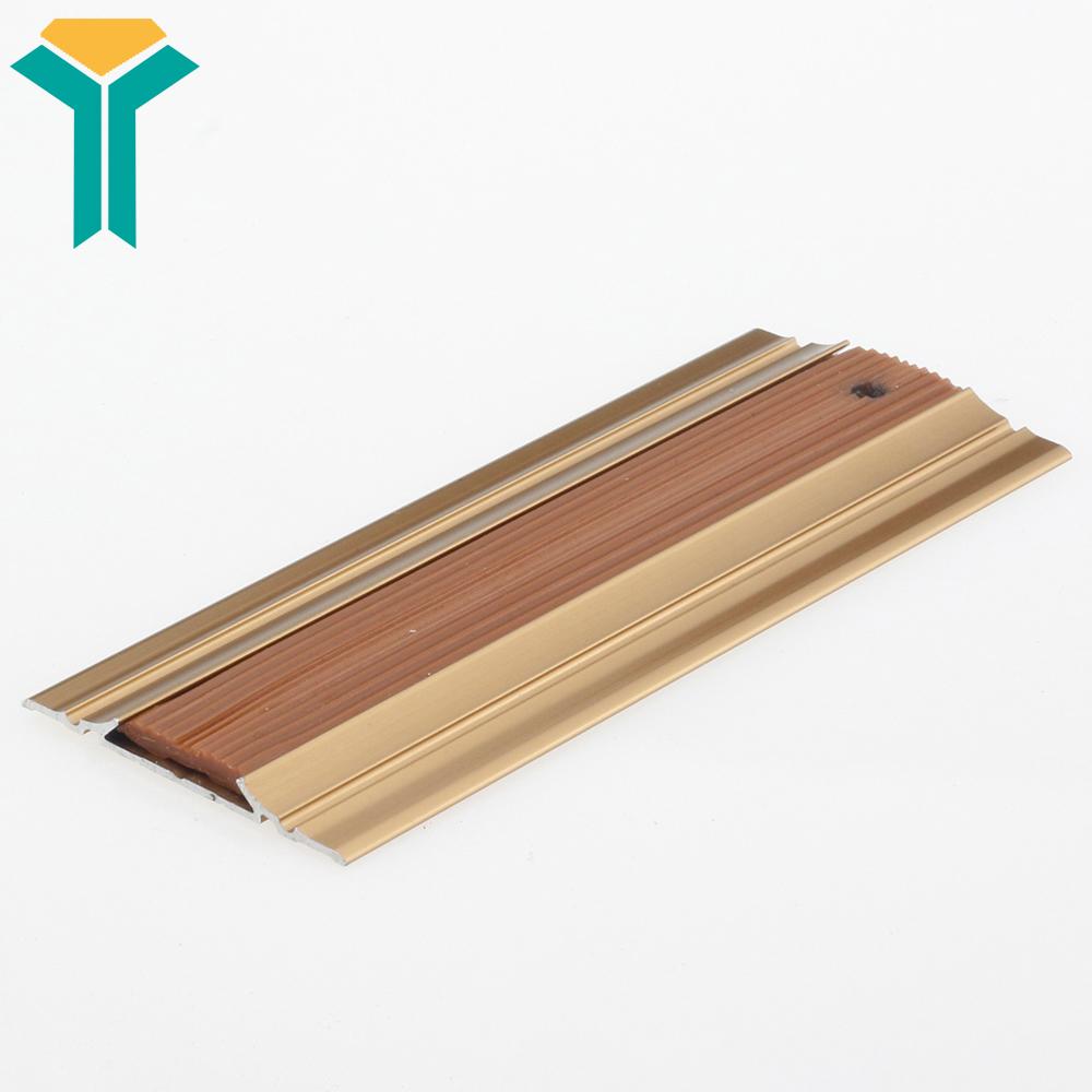 bc72030b54a Aluminium anti slip flat strip Profiles stair nosing edging strip aluminium  stair nosing