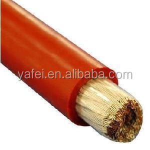 All sizes of single/multi strand electrical copper conductor silicone cable