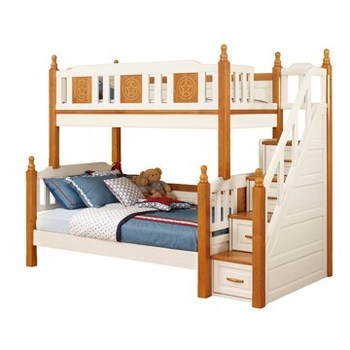 Double Bunk Beds Furniture Japanese Standard Kindergarten Bed Solid