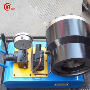 Manual Hose Crimping Swaging Flexible Metal Hose Making Machine
