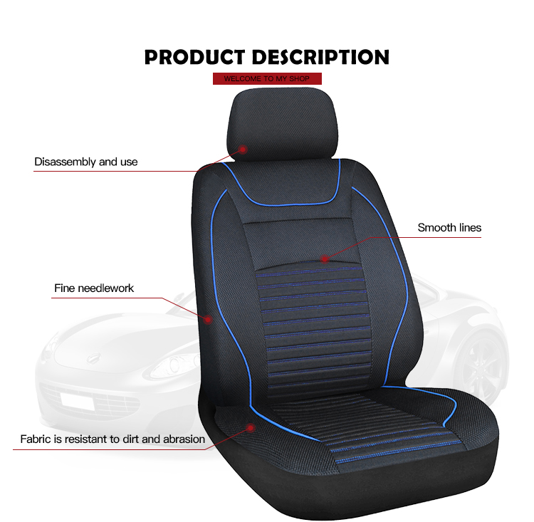 Design Mesh Full Set Protector Hot Style Car Seat Cover