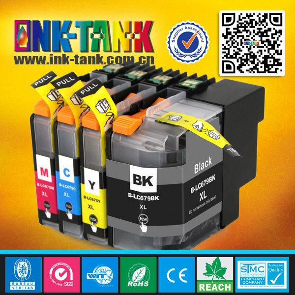 Lc679xl / Lc675xl Compatible Printer Ink Cartridge For Brother Mfc ...